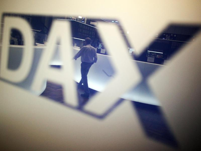 Dax verharrt knapp unter der Bestmarke