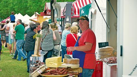 Der SeenLandMarkt ist einer der Besuchermagneten in der Region.