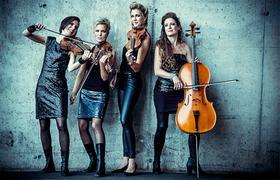 Streichquartett La Finesse spielen klassische Musik und verbinden sie mit modernen Pop-Einflüssen.