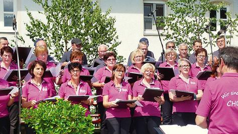 Frühjahrskonzert mit dem Gesangverein Nennslingen.
