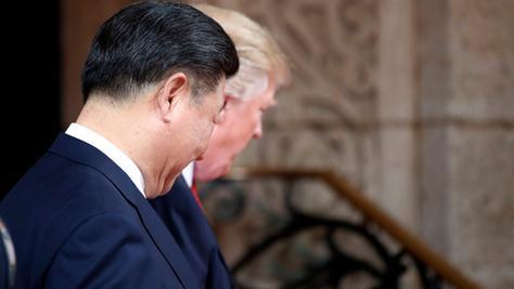 US-Präsident Donald Trump und der chinesische Präsident Xi Jinping wollen in Zukunft kooperieren.