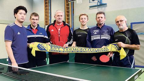 ESV Treuchtlingen: Das Tischtennis-Topteam im Kreis.