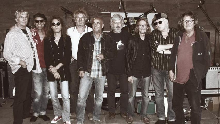 Sie sind wieder zurück: Die Musiker der NC Brown Blues Band sind in der Region Legende. Sie schließen am 6. Mai die Konzertserie ab.
