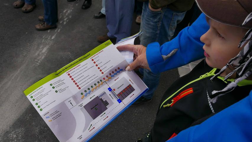 Der kleine Wegweiser leistet gute Dienste bei der Zuordnung zur farblich markierten kostenlosen oder kostenpflichtigen Annahme.