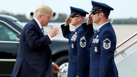 Sollte Nordkorea weitere Atomwaffentests durchführen, könnte US-Präsident Donald Trump einen Militärschlag anordnen.