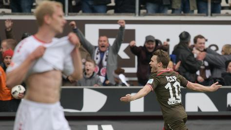 Christopher Buchtmann sorgte beim Sieg seines FC St. Pauli für das Tor des Tages.