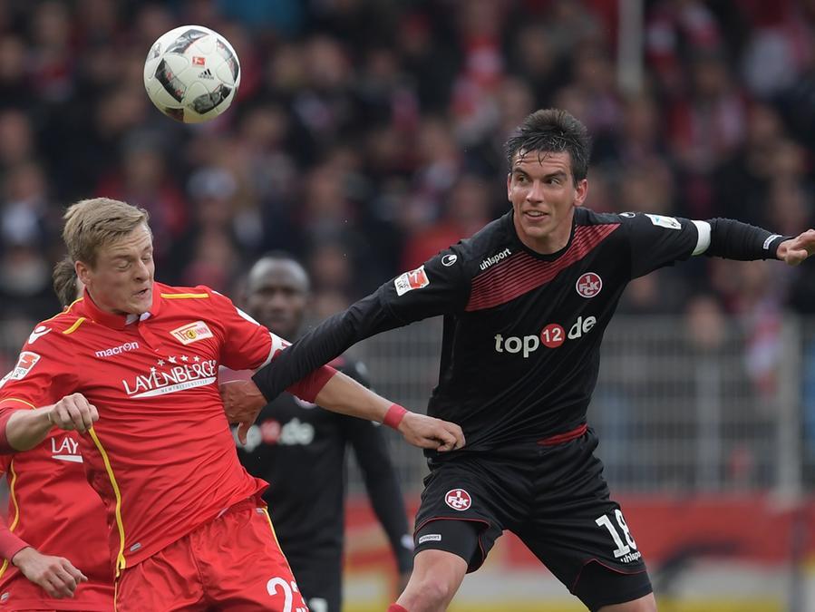 An der alten Försterei setzte sich Union Berlin mit 3:1 gegen den 1. FC Kaiserslautern durch.