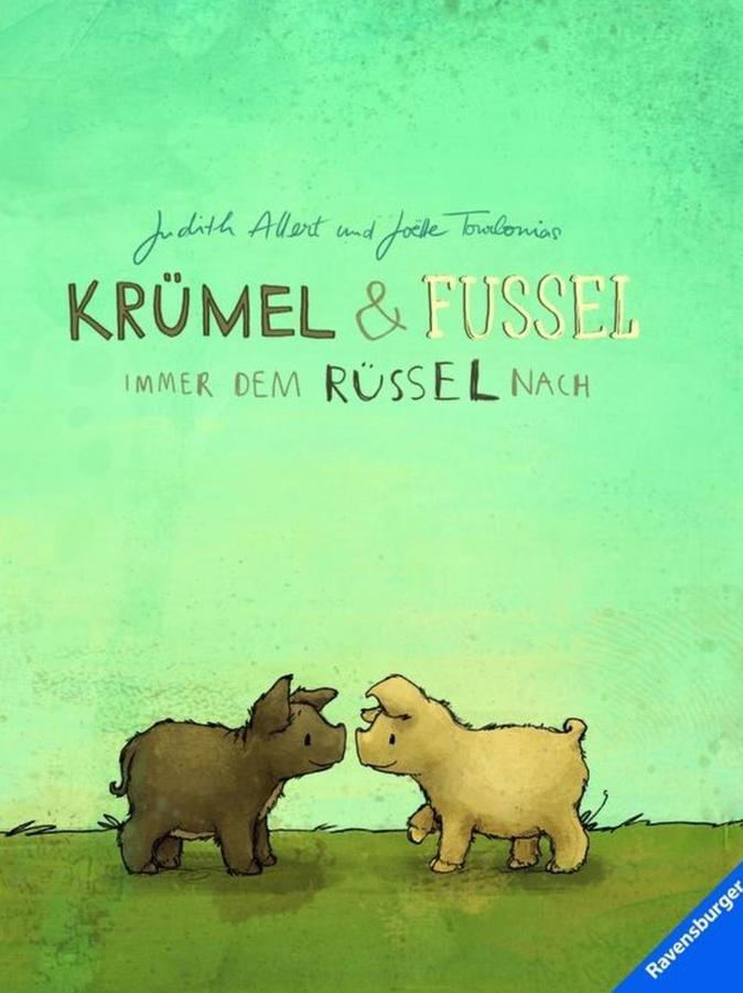 """Das ist das Cover des ersten Abenteuers von """"Krümel & Fussel"""". Zwei weitere sind bereits in Planung."""