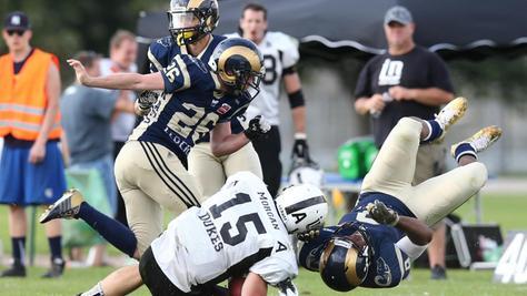 Bald geht's wieder zur Sache: Die Rams peilen den Aufstieg ins Football-Oberhaus an.