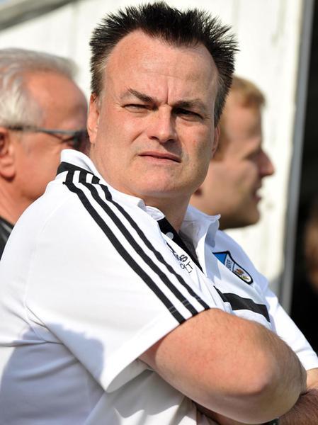 Weisendorfs Trainer Armin Appelt.