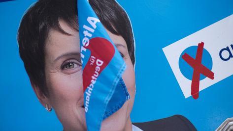 Die Euphorie ist verflogen: Wenige Monate vor der Bundestagswahl ist die AfD um Parteichefin Frauke Petry gespalten.