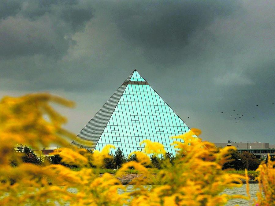 22 Jahre lang beherbergte die Pyramide in Fürth ein Hotel. Das ist mittlerweile geschlossen.