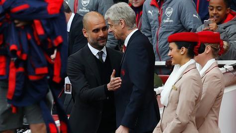 Zwei große Trainer und ihre letzte Hoffnung auf einen Titel: Am Sonntag treffen Pep Guardiolas Manchester City und Arsène Wengers Arsenal London im FA Cup aufeinander.