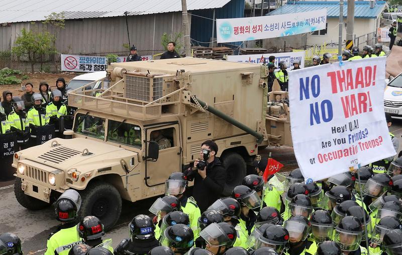 Nordkorea hält zum Armee-Jahrestag Artillerie-Übung ab - USA entsendet Kriegsflotte