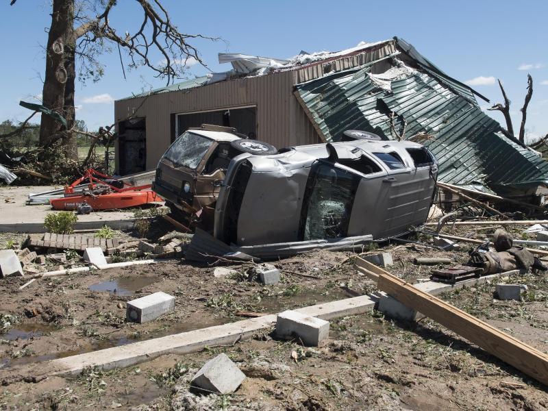 Mindestens sechs Tote bei schweren Unwettern in den USA