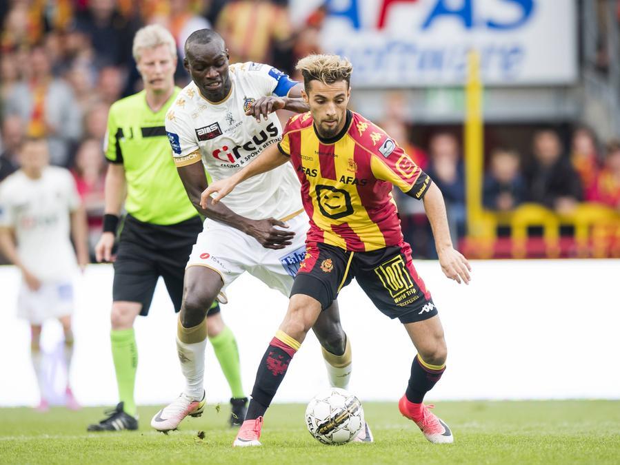Reda Jaadi könnte vielleicht bald beim Club spielen. Dies stellt zumindest ein belgisches Internetportal in den Raum.