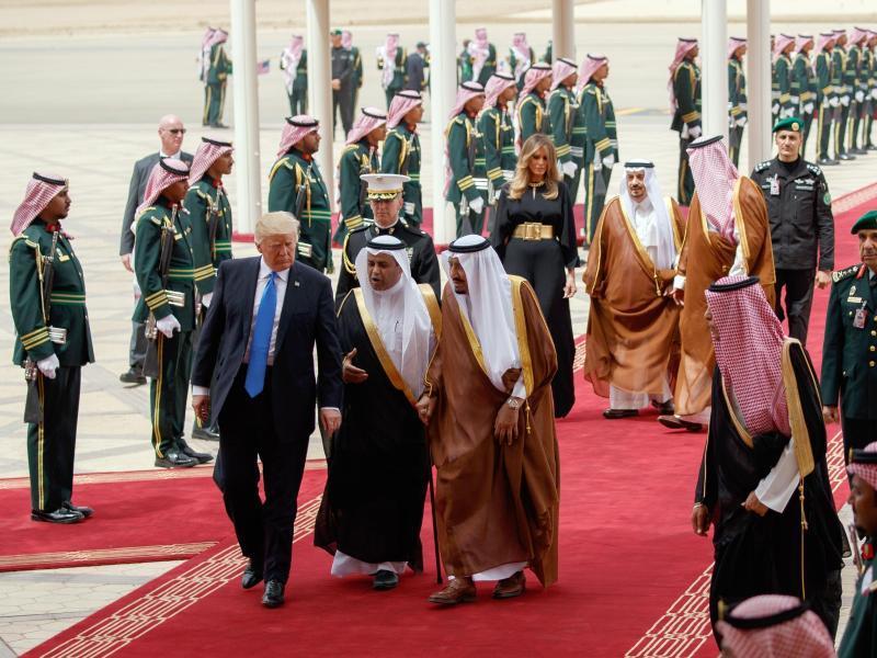 USA: Großes Aufsehen um Melania und Ivanka Trump in Riad