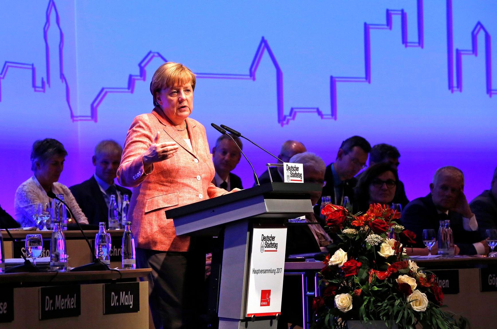 Städtetag erhofft sich Antworten von Merkel auf Wohnungsnot