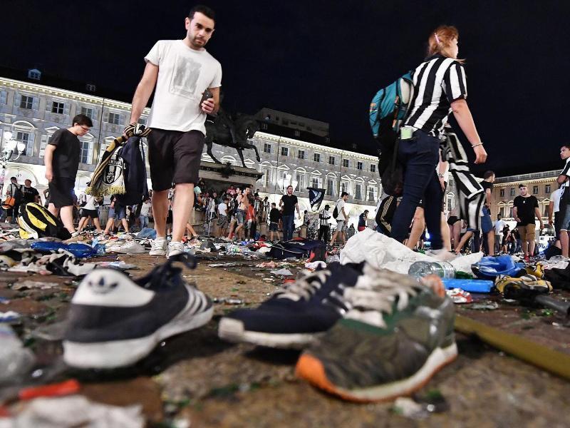Public Viewing - Massenpanik in Turin: Kritik an Behörden wird laut