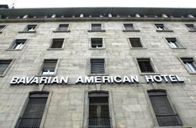 Bislang ist von luxuriösem Hotel noch wenig zu sehen beim Bavarian American Hotel.