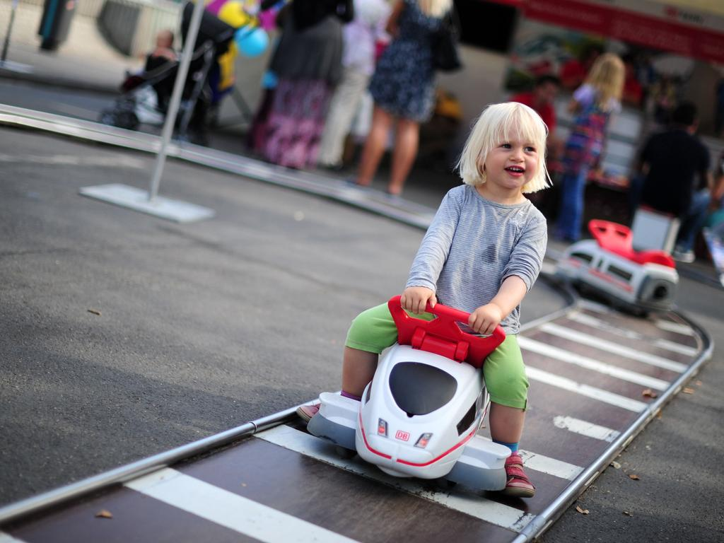 Kinderfest am Hauptbahnhof