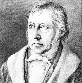 Der Philosoph Georg Wilhelm Friedrich Hegel.