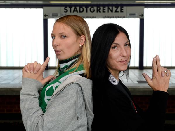 Ella Rothenhöfer (l.) und Claudia Wunder