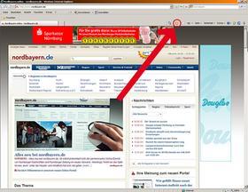 """So stellt der Browser """"Internet Explorer"""" die RSS-Feeds dar."""