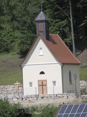 Ein Kleinod geworden: Die Kapelle St. Johann in Höfen nach ihrer Sanierung.