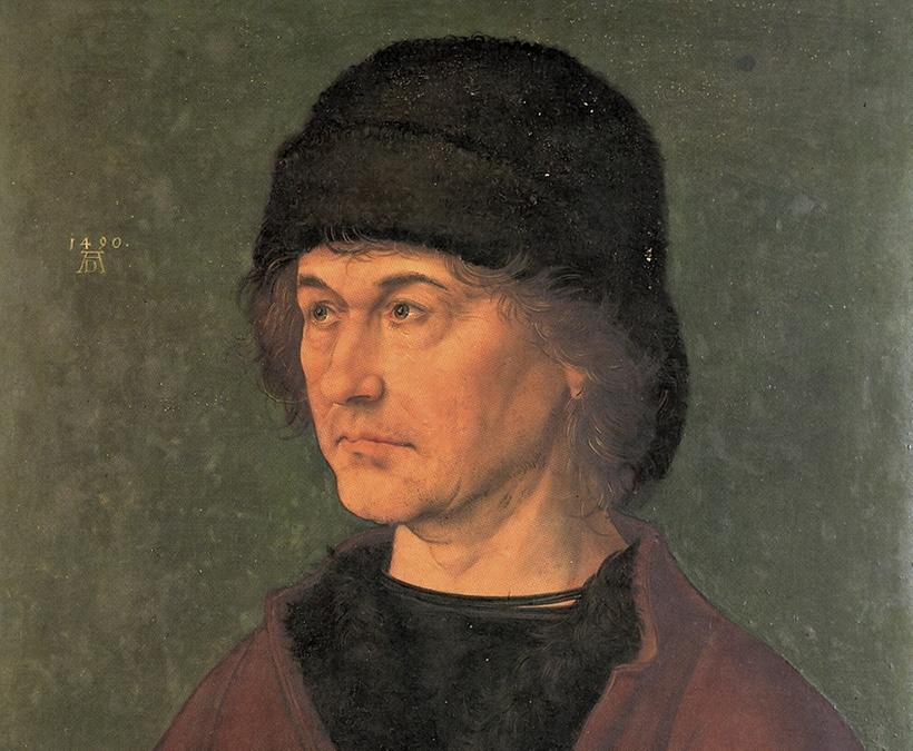 Die Eltern des Künstlers: Barbara und Albrecht d.Ä., wie sie Albrecht 1490 malte.